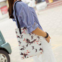 Insect Printed Shoulder Bag