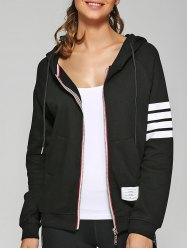 Zip Up Hoodie With Pockets -