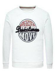 Long Sleeve Graphic Crew Neck Sweatshirt -