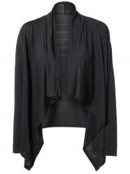 Long Sleeves Irregular Cardigan