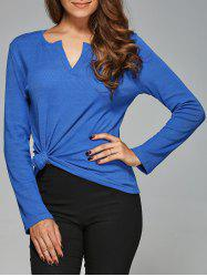 V Neck Slimming T-Shirt -