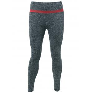 Two-Toned Heather Sport Leggings