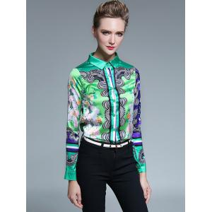 Colorful Printed Shirt -