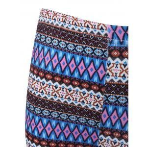 Ethnic Printed High Waist Leggings -
