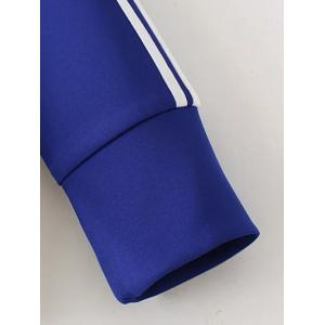 Zip Up Sports Jacket and Pants - SAPPHIRE BLUE XL