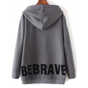 Graphic Oversized Hoodie -