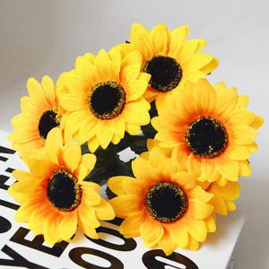 1 Branch Living Room Decoraton Artificial Sunflower -