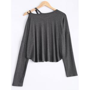 Cami Asymmetric Loose T-Shirt -