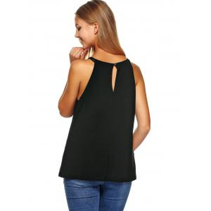 Beaded Cut Out Tank Top -