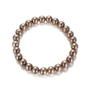 Shiny Bead Plated Bracelet -
