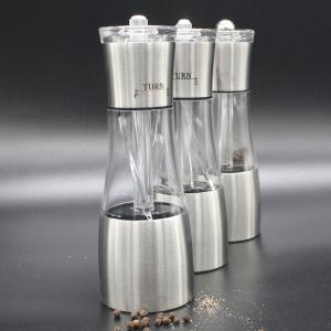 High Quality Stainless Steel Manual Peper Bean Grinder - SILVER