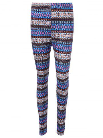 New Ethnic Printed High Waist Leggings