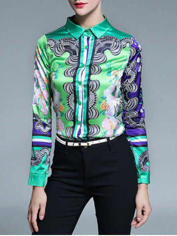 Outfit Colorful Printed Shirt