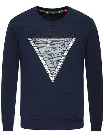 Buy Inverted Triangle Crew Neck Sweatshirt