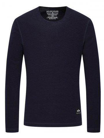 Outfit Rib Crew Neck Long Sleeve T-Shirt