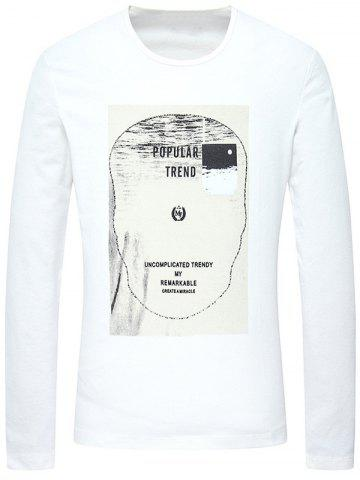 Online Graphic Printed Long Sleeves T-Shirt