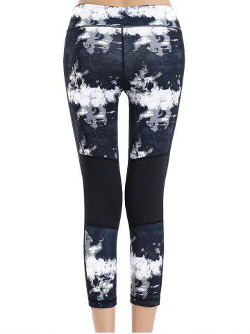 Best Print Stretchy Sport Capri Leggings