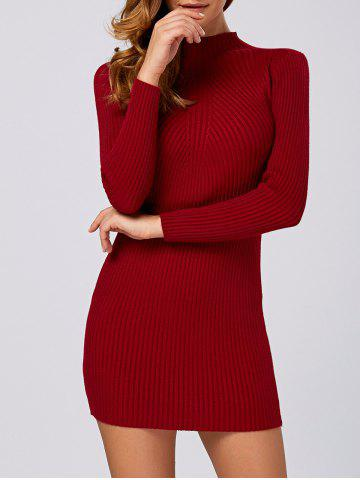 Best Ribbed Long Sleeve Sweater Dress
