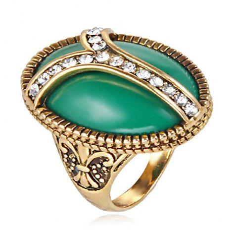 Hot Vintage Faux Jade Ring