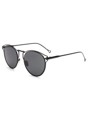 New Hipsters Hollow Out Arrow Oval Sunglasses