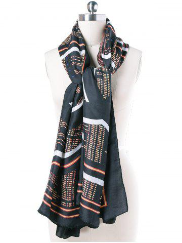 Cheap Autumn Stock Code Print Scarf Scarf