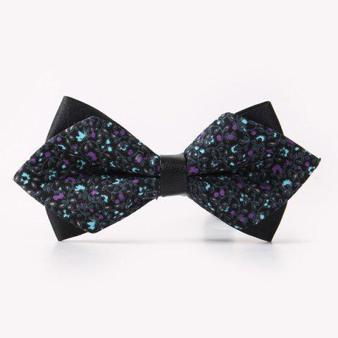 Best Banquet Flowers Rattan Sharp-Angled Double-Deck Bow Tie