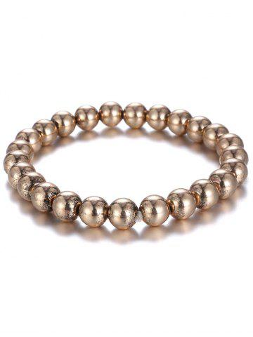Discount Shiny Bead Plated Bracelet