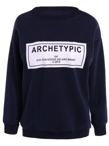 Latest Archetypical Print Long Sleeve Sweatshirt