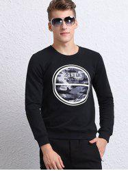 Long Sleeve 3D Camouflage Printed Sweatshirt -