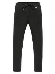 Lace-Up Slimming Beem Feet Jogger Pants -