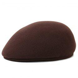 Faux Wool Felt Newsboy Hat