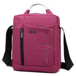 Zippers Stitching Bead Tote Bag -