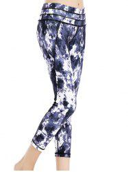 Tie Dye Stretchy Sport Leggings