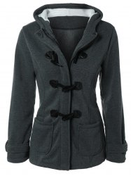 Hooded Duffle Coat -