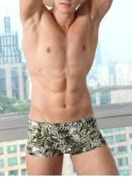 3D Tiger Print Design U Convex Pouch Boxer Brief