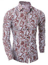 Camouflage Button Up Shirt