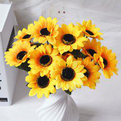 1 Branch Living Room Decoraton Artificial Sunflower