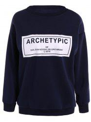Archetypical Print Long Sleeve Sweatshirt -