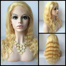 Long Body Wave Lace Front Human Hair Wig -