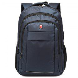 Dark Colour Metal Zippers Backpack