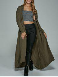 Hooded Longline Maxi Dust Coat