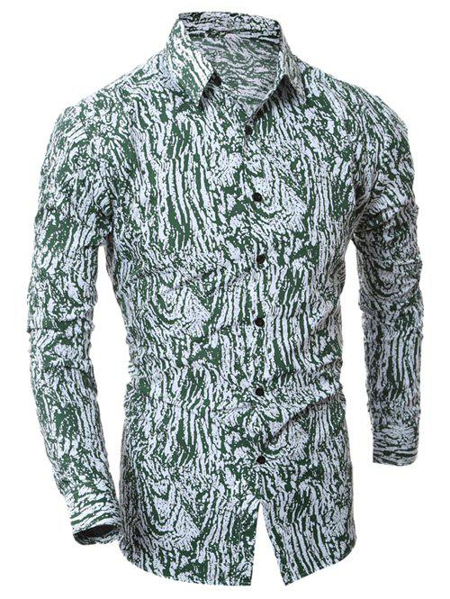 Outfits Camouflage Button Up Shirt
