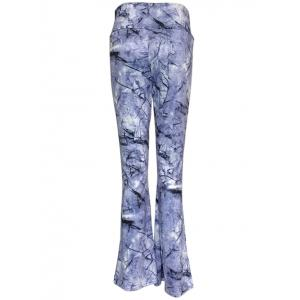 High Waist Ink Painting Slimming Pants -