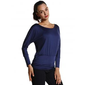 Ruched Dolman  Sleeve Blouse -