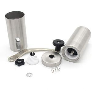 Portable Stainless Steel Manual Coffee Bean Grinder -