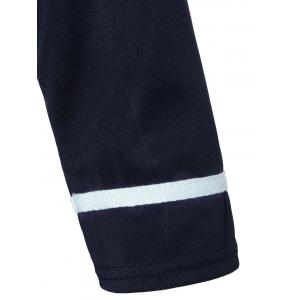 Navy Style Belted Bodycon Dress -