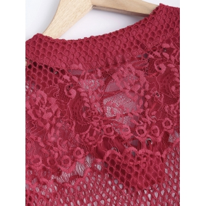 Openwork Lace Blouse -