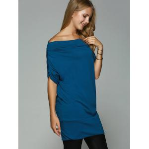 Long Ruched Sleeve T-Shirt -