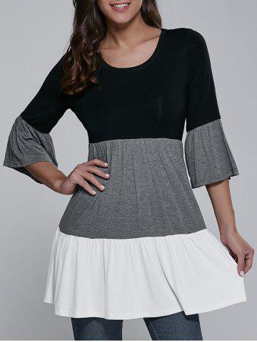 New Flare Sleeve Loose Fit Blouse