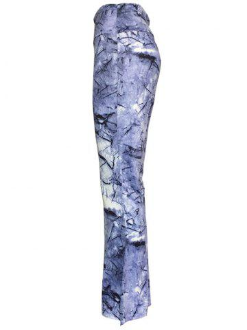 High Waist Ink Painting Slimming Pants от Rosegal.com INT